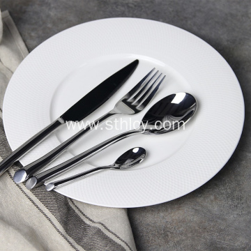 4-Piece Stainless Steel Dinnerware Set Wholesale